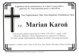 Marian Karoń