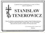 Stanisław Tenerowicz