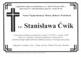 Stanisława Ćwik