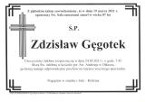 Zdzisław Gęgotek