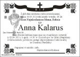 Anna Kalarus