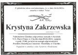 Krystyna Zakrzewska