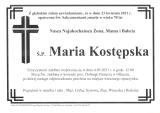 Maria Kostępska