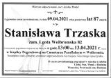 Stanisława Trzaska