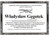 Władysław Gęgotek
