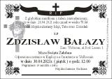 Zdzisław Bałazy