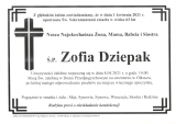 Zofia Dziepak