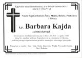 Barbara Kajda