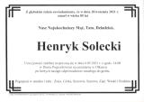 Henryk Solecki