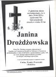 Janina Drożdżowska