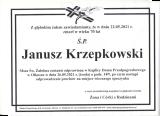 Janusz Krzepkowski