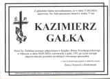 Kazimierz Gałka