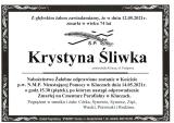 Krystyna Śliwka