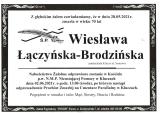 Wiesława Łączyńska-Brodzińska