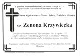 Zenona Krzywiecka