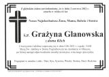 Grażyna Glanowska