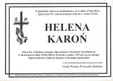 Helena Karoń