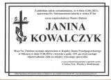 Janina Kowalczyk