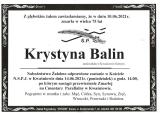 Krystyna Balin