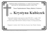 Krystyna Kubiczek