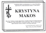 Krystyna Makos