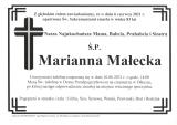 Marianna Małecka