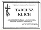 Tadeusz Klich