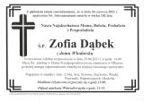 Zofia Dąbek