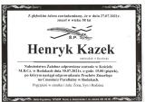 Henryk Kazek