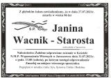 Janina Wacnik-Starosta