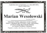 Marian Wesołowski