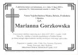Marianna Gorzkowska
