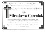 Mirosława Czerniak