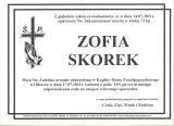 Zofia Skorek