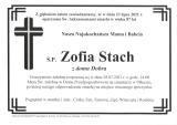 Zofia Stach