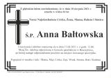 Anna Bałtowska