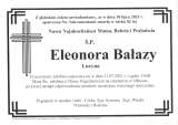 Eleonora Bałazy