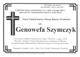 Genowefa Szymczyk