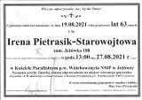 Irena Pietrasik-Starowojtowa
