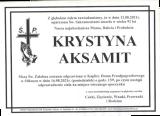 Krystyna Aksamit