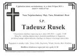 Tadeusz Rusek