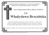 Władysława Brzezińska