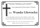 Wanda Głowacka