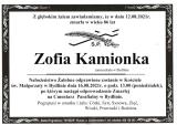 Zofia Kamionka