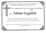 Adam Gęgotek