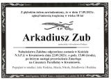 Arkadiusz Zub