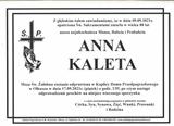 Kaleta Anna