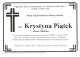 Krystyna Piątek