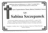 Sabina Szczepanek