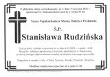 Stanisława Rudzińska